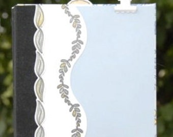 SALE Flowers Garden Bumblebees Themed Mini Album Scrapbook