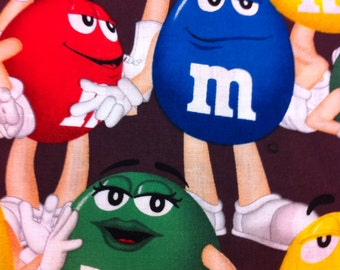 New Window Curtain Valance Made From M & M candy Fabric