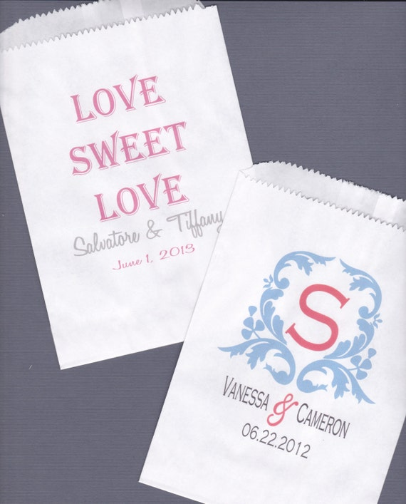 Wedding Favor Bags For Candy : Wedding, Candy Buffet Bag, Favor Bags, Cookie Bar, Treat Bags ...