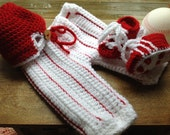 World Series Set for Babies includes baseball pants - cap - cleats - in three sizes