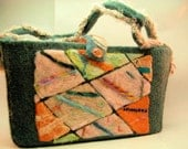 Needlefelted Embroidered Tote