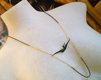 Always Flying Necklace Mixed Chain