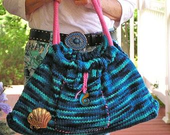 Hobo Bag - Naughty Girl - A Flirty Hand-Knit creation