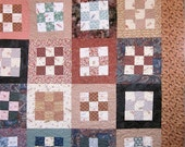 Patchwork Quilt - Anne of Green Gables twin bed quilt