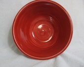 Bright Red 3-cup Porcelain Bowl RKC106