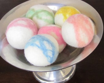 Wool Dryer Balls - Set of Six