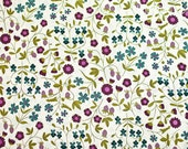 Liberty of London Tana Lawn Plum Mirabelle 100% Cotton Tana Lawn Craft Fabric Sold by the Yard