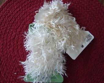 Suppies New Trim Ostrich Collection white Cream Beige 2 Yards