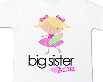 Big sister or big sister to be sweet pregnancy announcement Tshirt