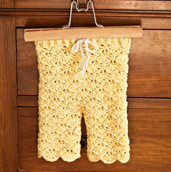 Instant download - Crochet PATTERN (pdf file) - Seamless Lace Leggings (sizes baby, toddler, child)