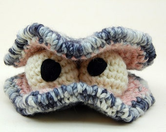 Crocher Oyster Stu Amigurumi Plush Toy Pattern Instant Digital Download