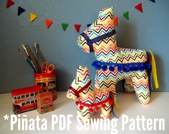 Cinco de Mayo Plush Pinata PDF Sewing Pattern