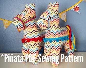 Pinata Stuffed Animal PDF Sewing Pattern