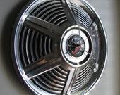 1965 Ford Mustang Hubcap Clock no.2361