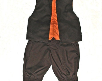 Reversible Colonial Vest and Britches