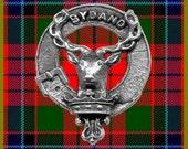 Gordon Clan Crest Scottish Pewter Cap Badge CB01