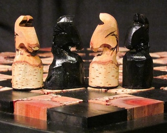 Chess set  Hand Carved