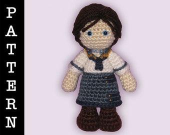 Crochet Pattern - Amigurumi Elizabeth Doll