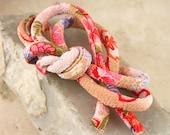 Japanese Chirimen Cording - Necklace or Bracelet Cord Kimono Fabric 808D