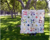 The Very Busy Simple Scrappy Quilt.