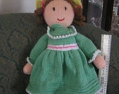 Hand Knitted Doll - Emily
