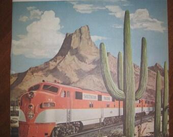 Big Color Train Print