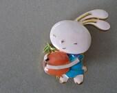 Easter Bunny ENAMEL PIN