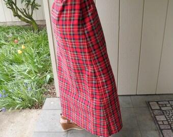 Vintage Pantasias 1970s Maxi Skirt