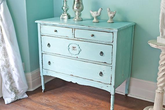 Shabby Chic Blue Dresser Dresser Shabby Chic Beach