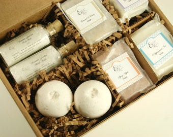 Bridesmaid Gifts -  Pampering Bath Gift Set(Set of 8)