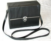 Binolux Binocular Case  Vintage Slim Black Accessory Case
