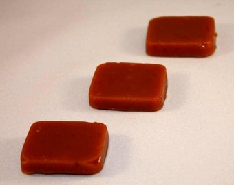 Peppermint Caramels 4 ounces Wrapped