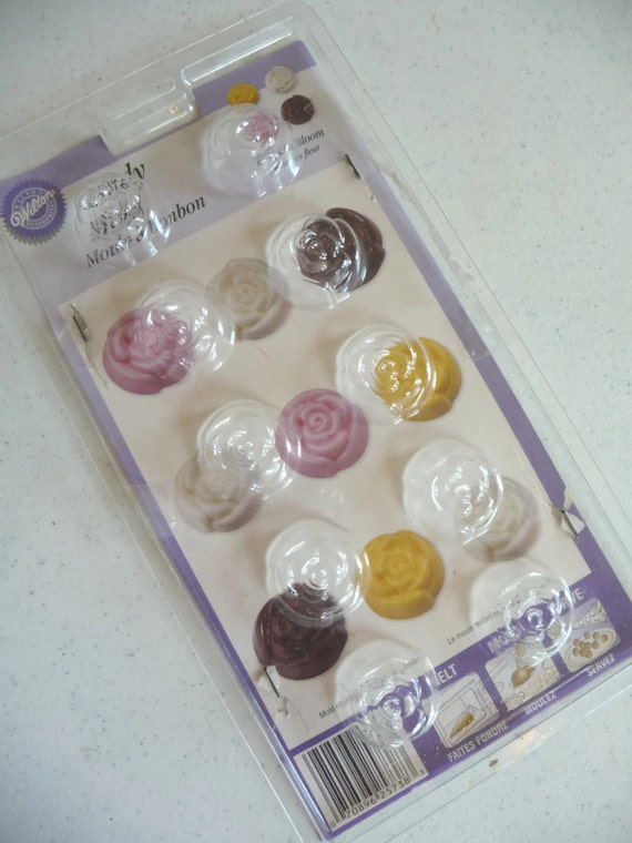 Items Similar To Candy Mold Roses Roses In Bloom Wilton