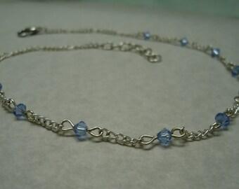 Light Sapphire Necklace