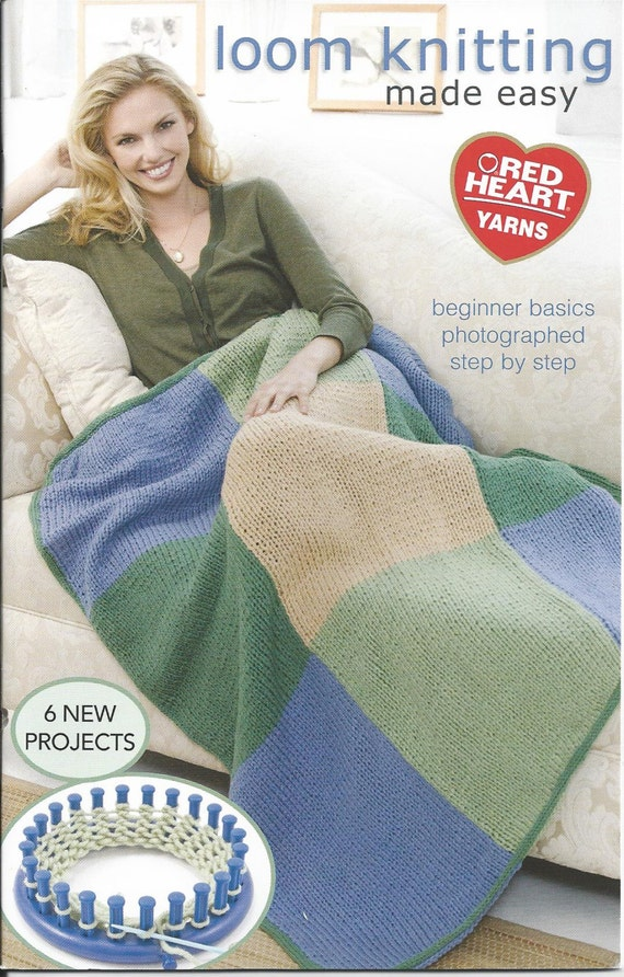 LOOM PATTERN BOOKLET / Round Loom Knitting Made by WhatCameFirst
