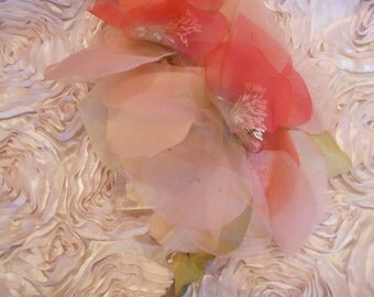 1930's Pale Pink Double Flower