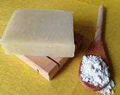 Lemon Pine- gentle bar with clay- great for face and body