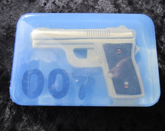 007 Gun Soap