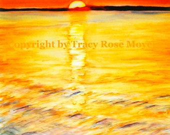 Welcome A New Day- Giclee Limited Edition print by Tracy Rose Moyers