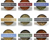 CHOOSE 3 LARGE Herb Spice Blends, Spices, Spice Kit, World Flavors, Grilling, Healthy Salads, Comfort Food, Pasta, Gourmet Gift