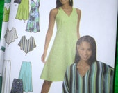 Simplicity 5193 Pattern for pullover dress or blouse and pants size 6-12