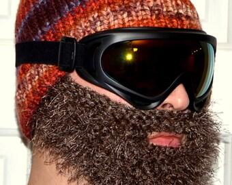 Ski Beanie, Ski Mask, Skiing Hat, Skiing Beanie, Adult Size, Snowboard Knitted Hat, Ski Hat, Snowboarding Hat, Snowboarding Beanie