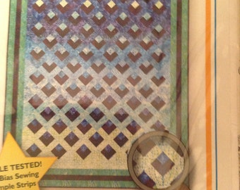 REFLECTIONS a strip pieced show Stopper quilt pattern