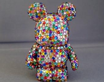 Bedazzled Mouse Technicolor Version Custom Vinylmation