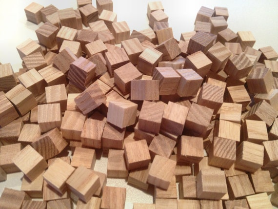 Wood Pieces For Crafts ~ Wood cubes for crafters and artisans pieces
