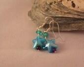 Blue Sea Stars Earrings...