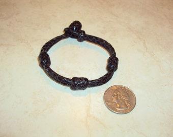 Kangaroo leather bracelet Western wear