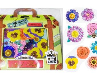 Crux sticker sack 64 pieces (Flowers)
