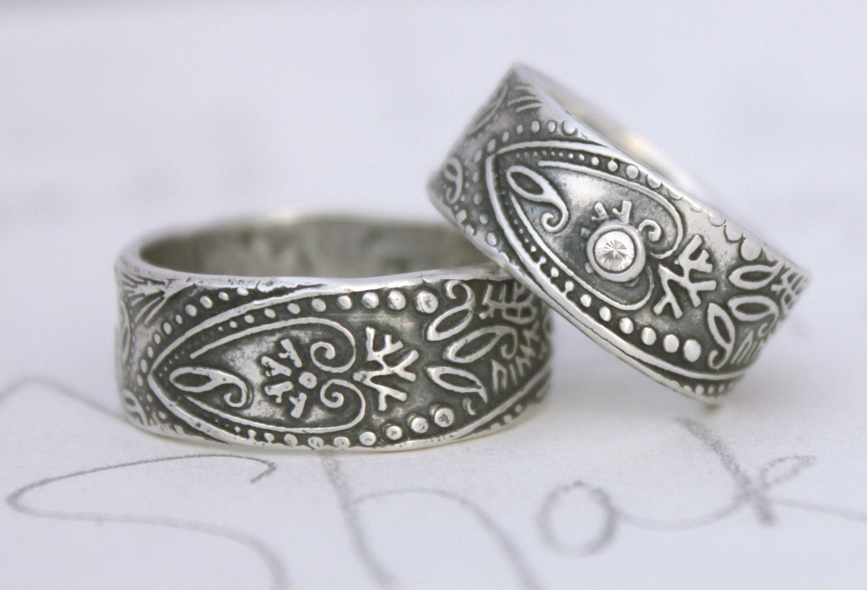 Bohemian Wedding Rings 009 - Bohemian Wedding Rings