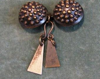 A Handmade Brass Pin
